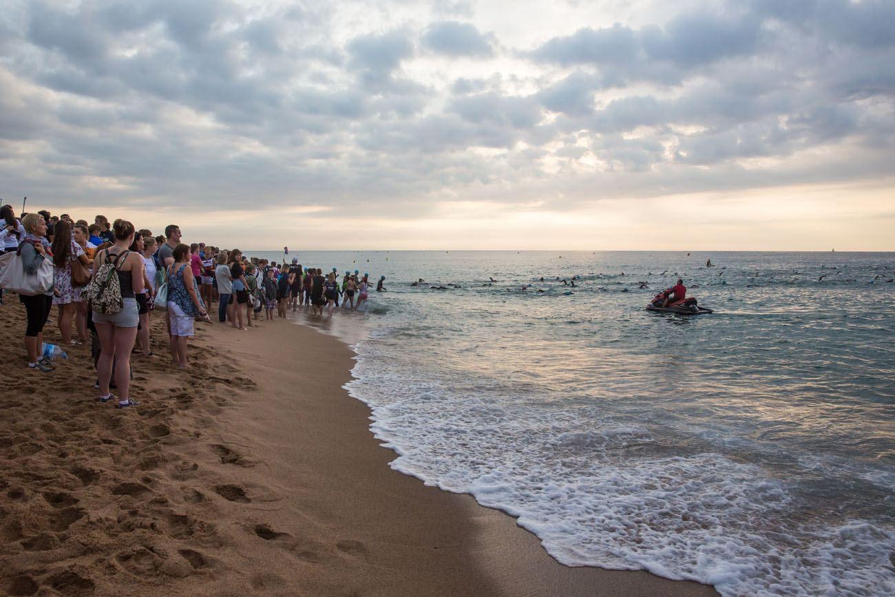 Ironman Barcelona Swim