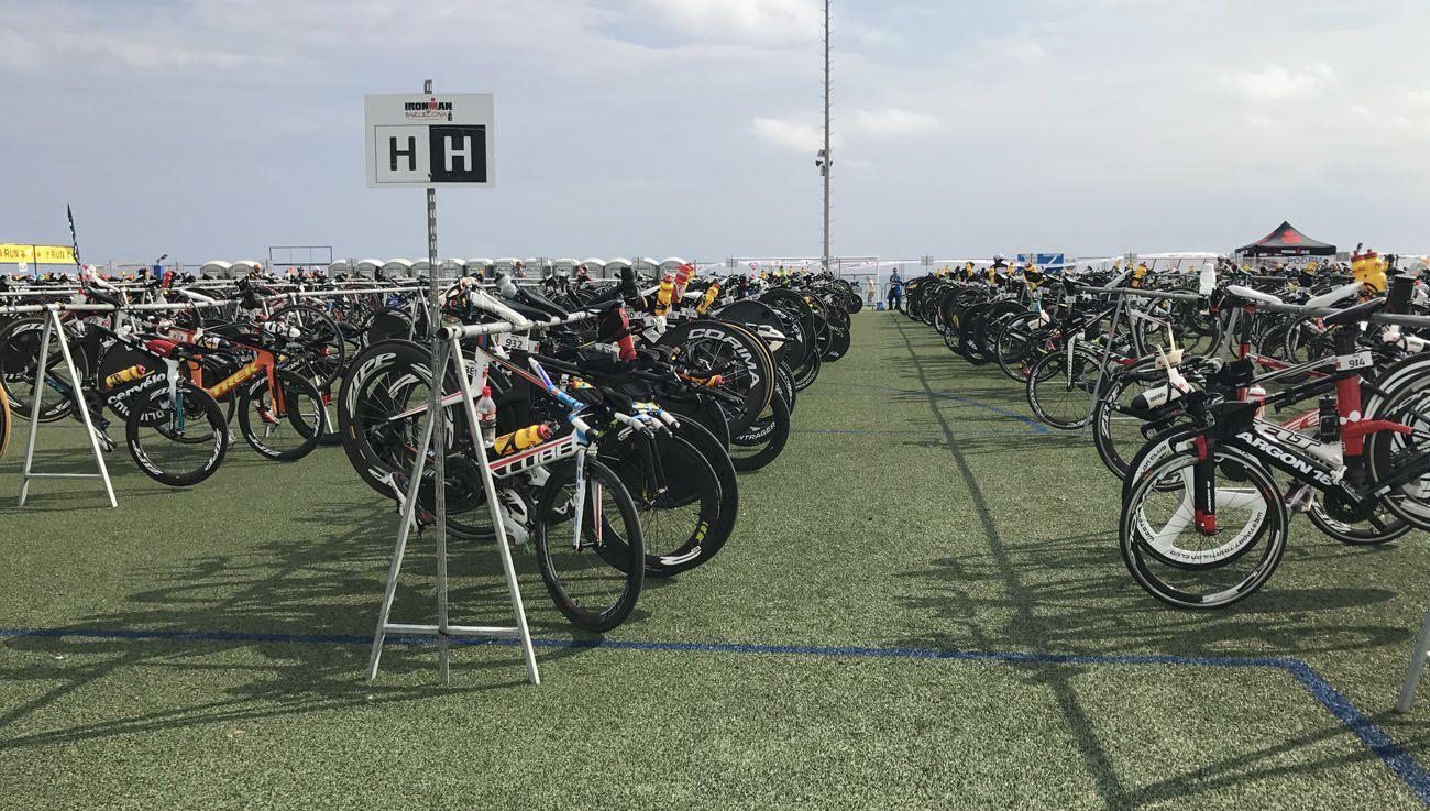 Ironman Barcelona transition