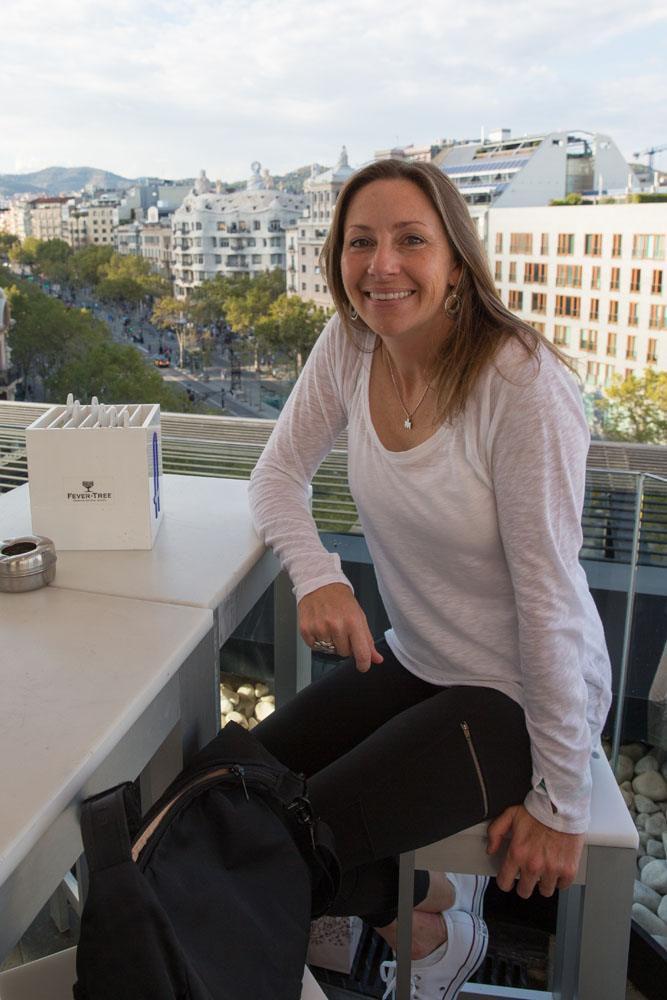 Julie Rivenbark in Barcelona