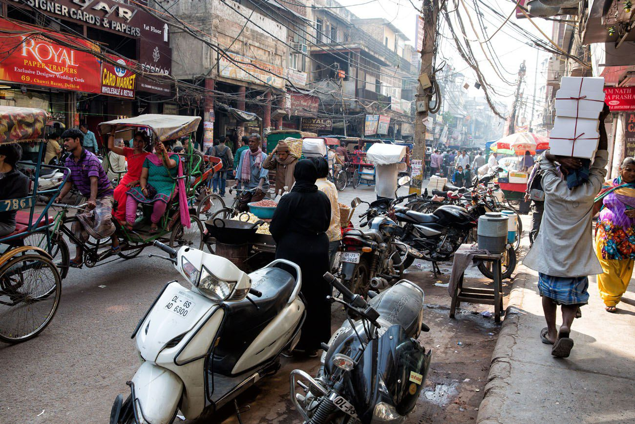 Old Delhi India street