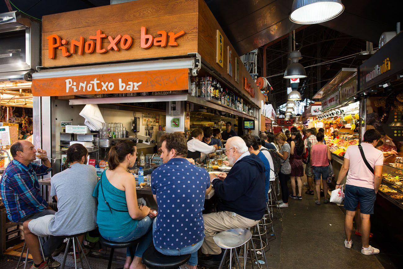 Pinotxo Bar Barcelona