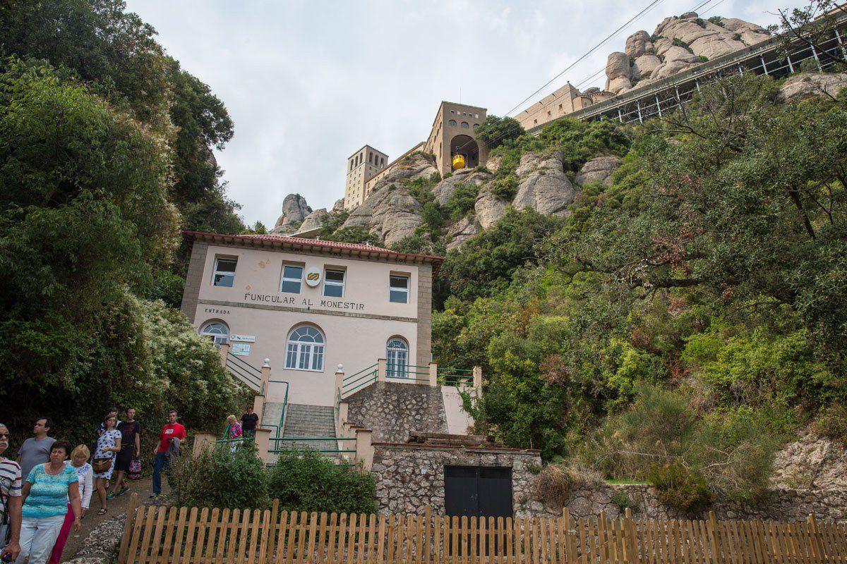 Santa Cova funicular