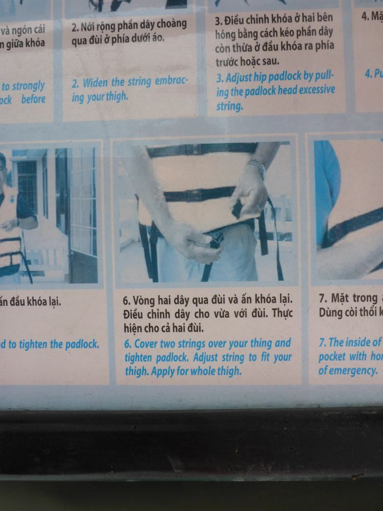 Vietnam instructions