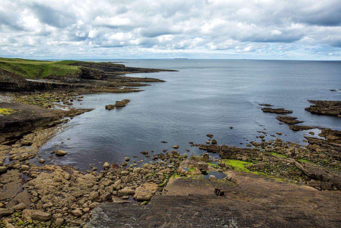 View of the Irish Coast