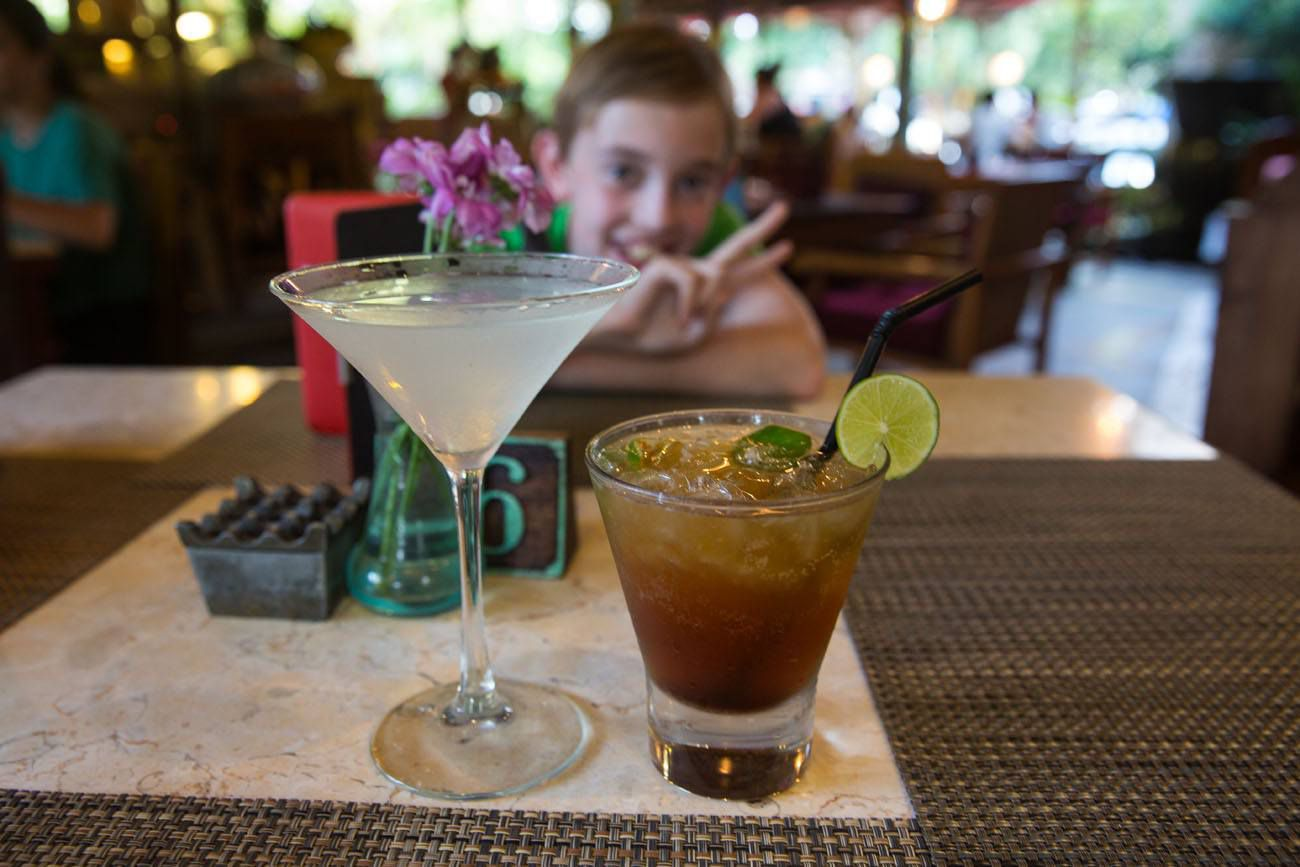 Cocktails Bali