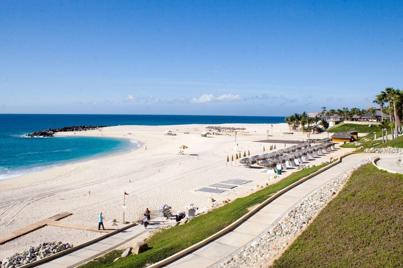 Beach at Hilton los Cabos