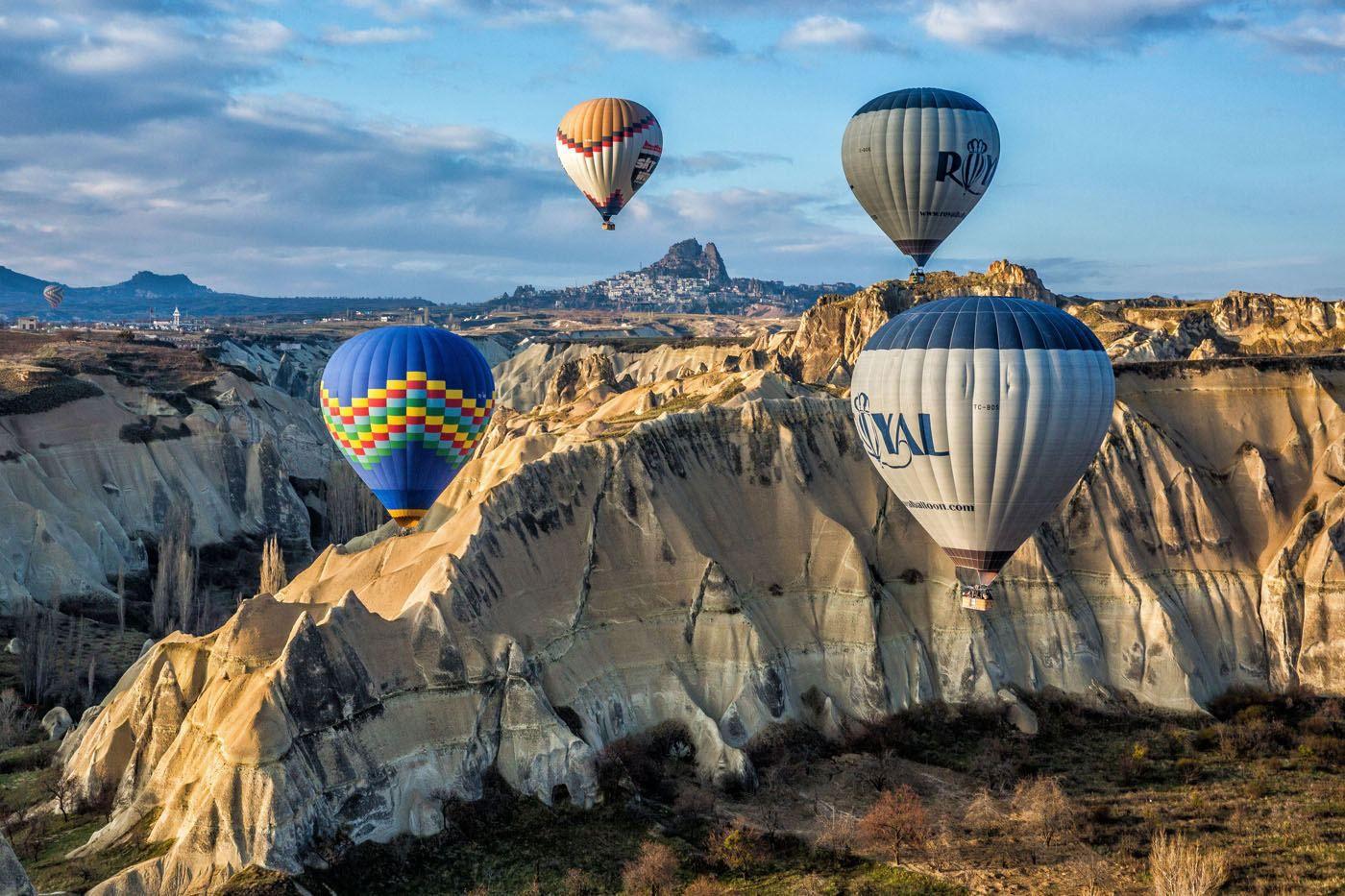 Cappadocia Balloons Love Valley