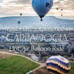 Cappadocia Best Things to do Hot Air Balloon Ride