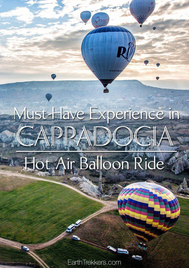 Cappadocia Best Things to do Hot Air Balloon Ride