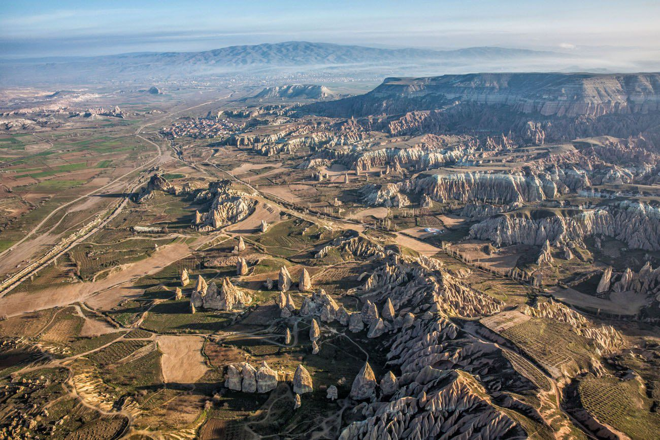 Cappadocia from Hot Air Balloon