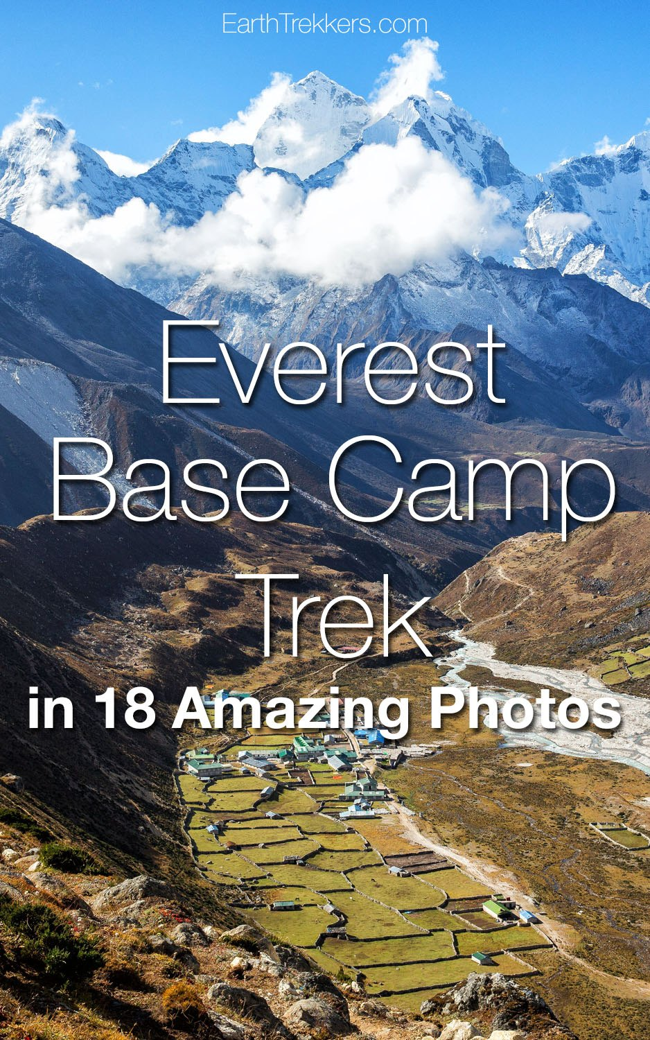 Everest base camp trek in photos