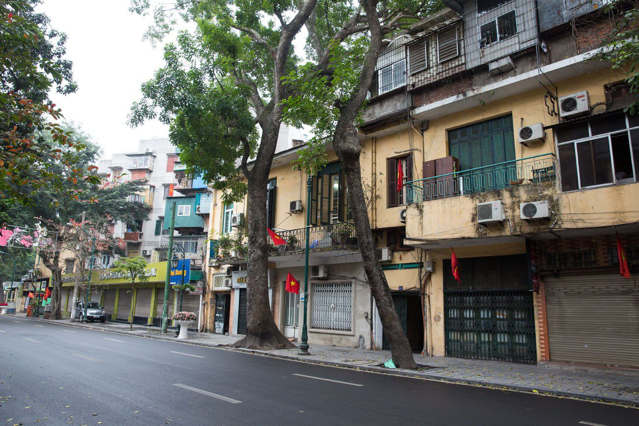 Hanoi after Tet