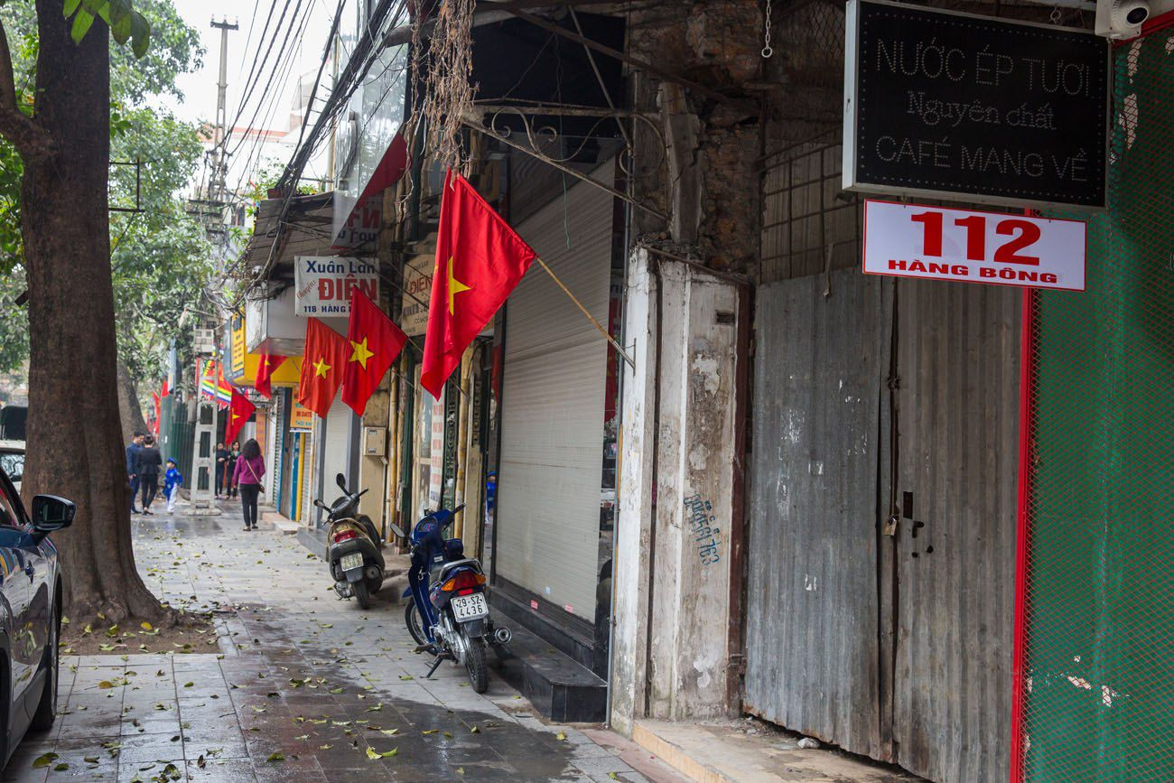 Hanoi during Tet