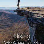Hiking McAfee Knob Appalachian Trail