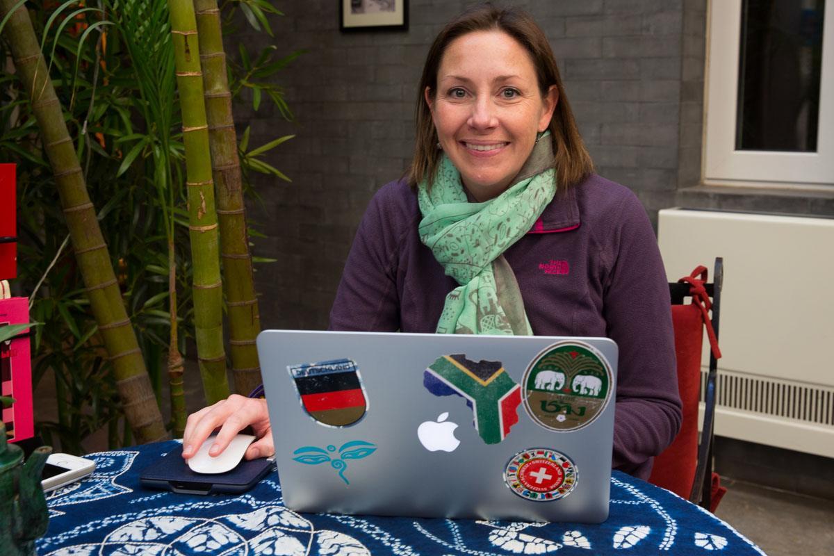 Julie Rivenbark China