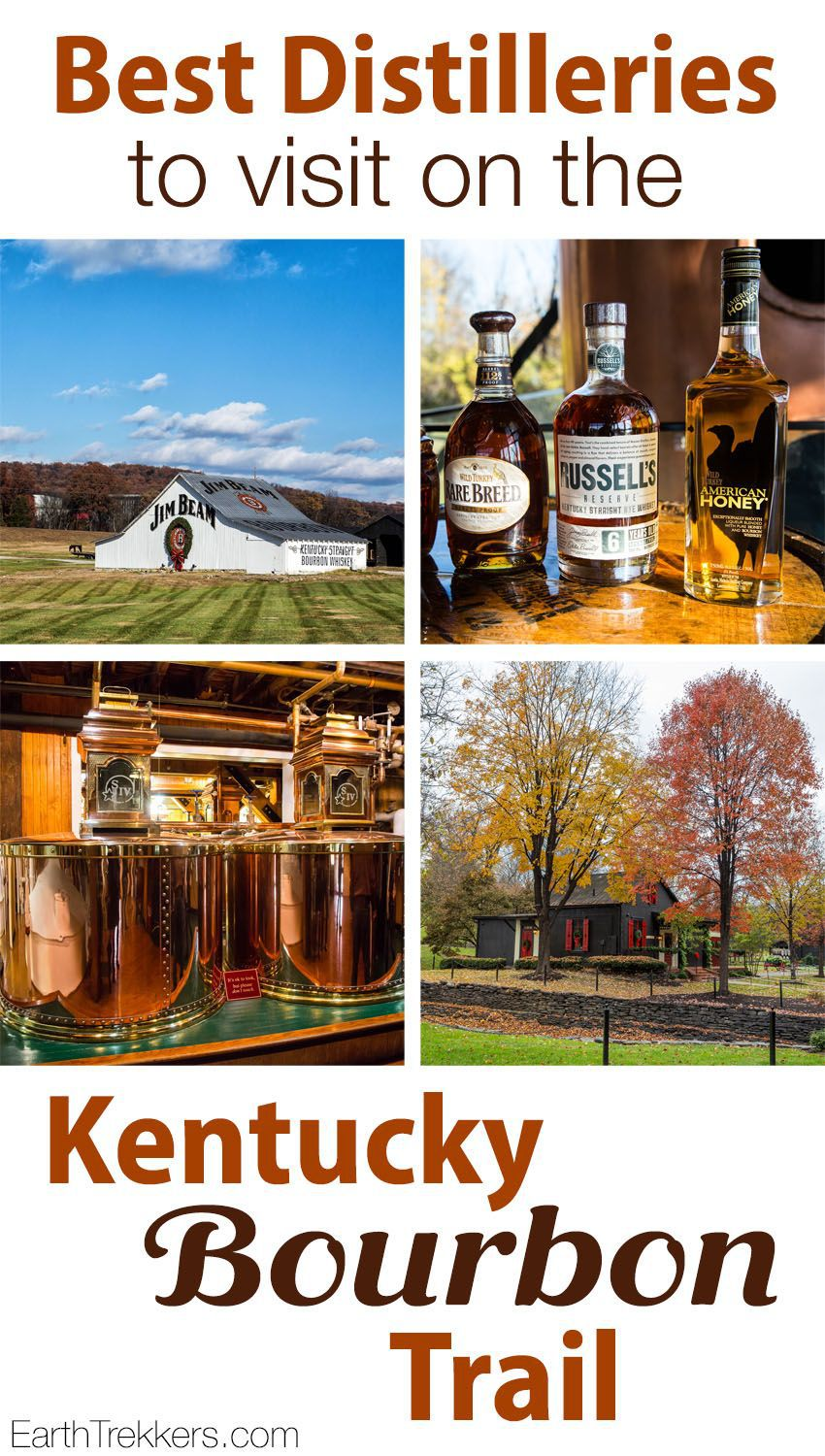 Kentucky Bourbon Trail best distilleries