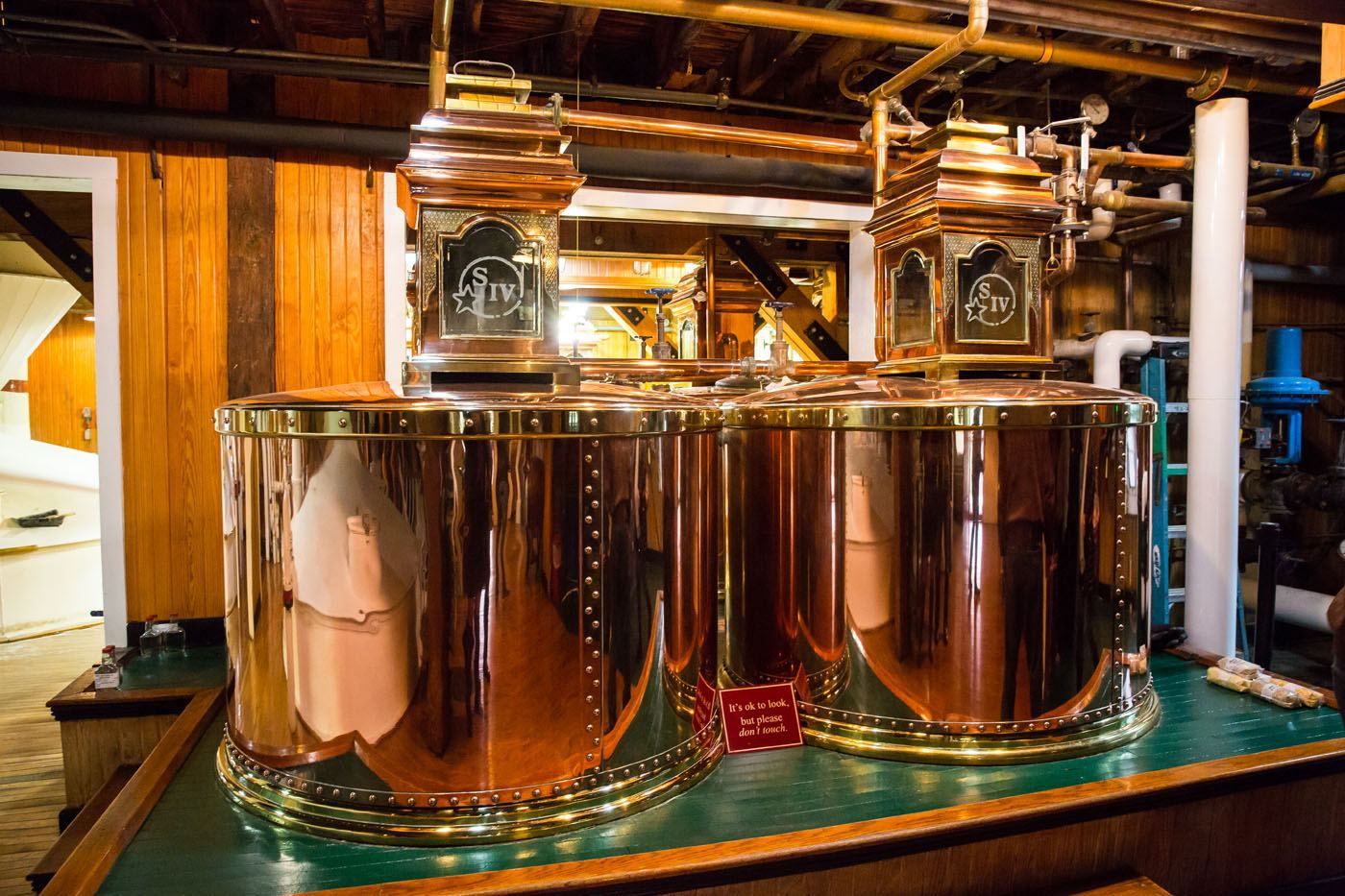 Makers Mark copper barrels