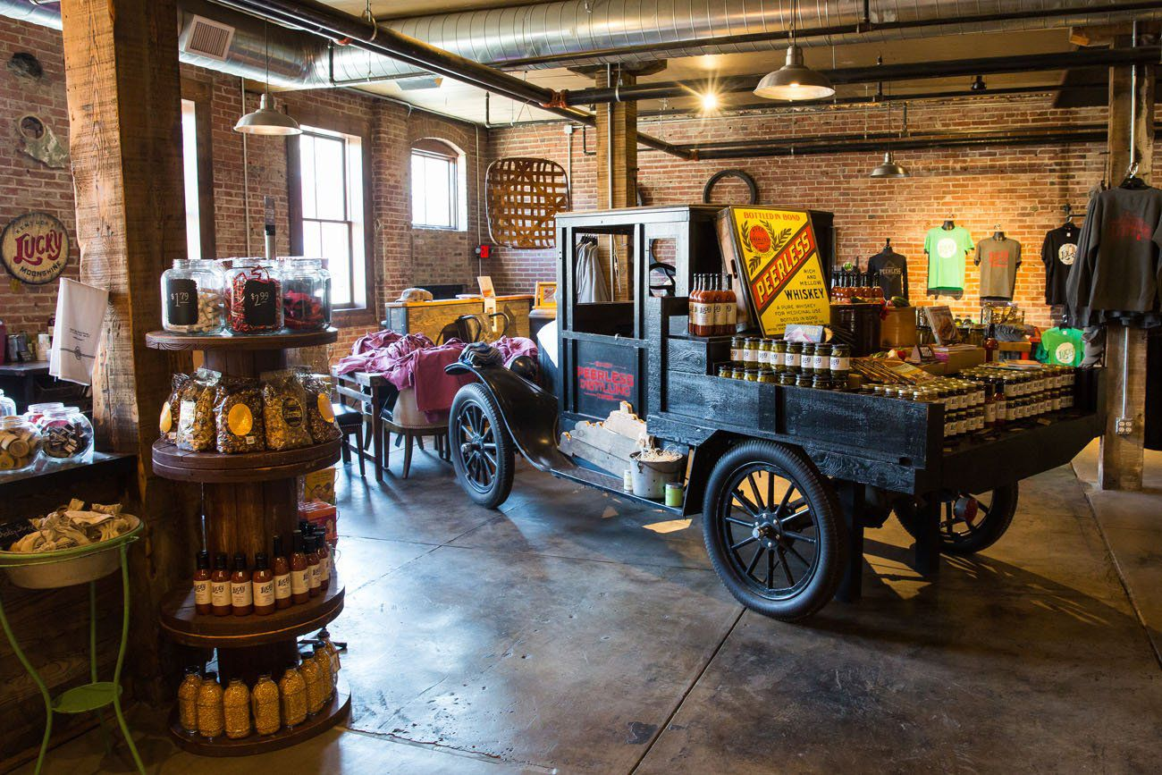 Peerless Distilling Gift Shop