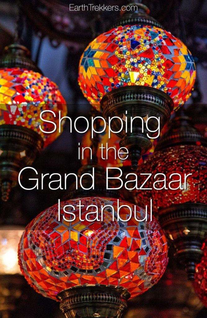 Shopping in the Grand Bazaar Istanbul