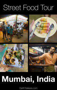 Street food tour in Mumbai India