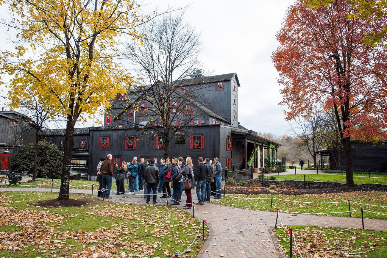 Tour at Makers Mark