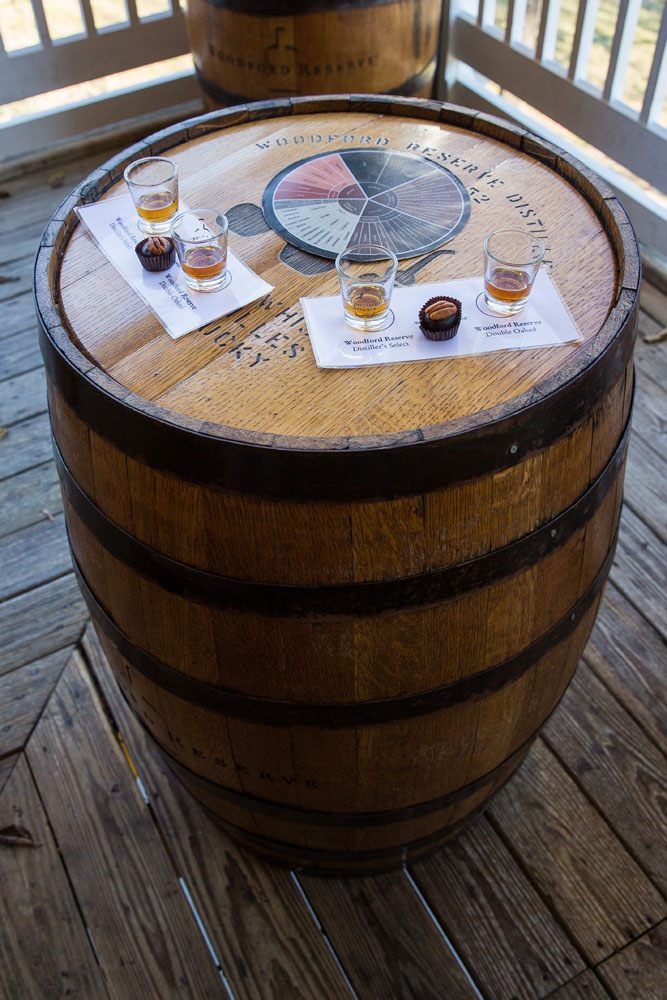 Woodford Reserve Bourbon Tasting