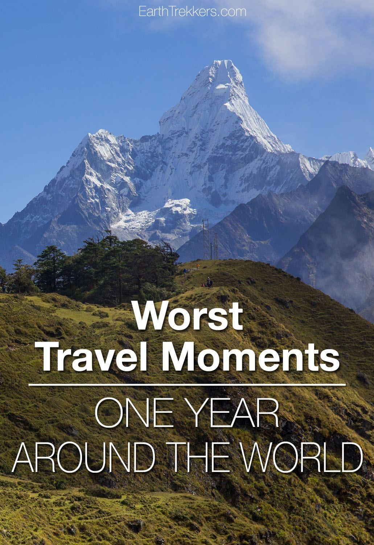 Worst travel moments around the world travel