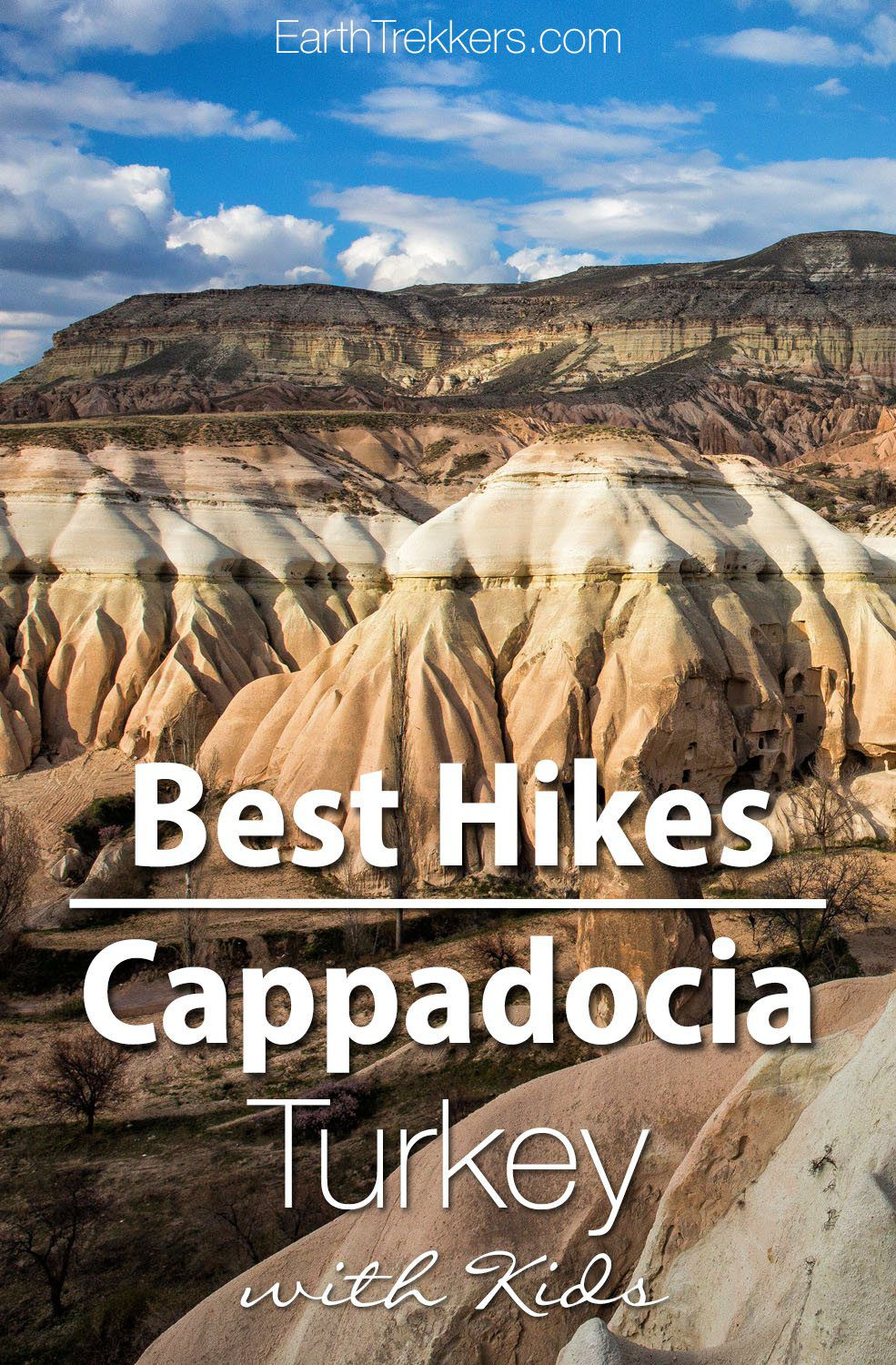 Cappadocia Turkey Best Hikes with Kids