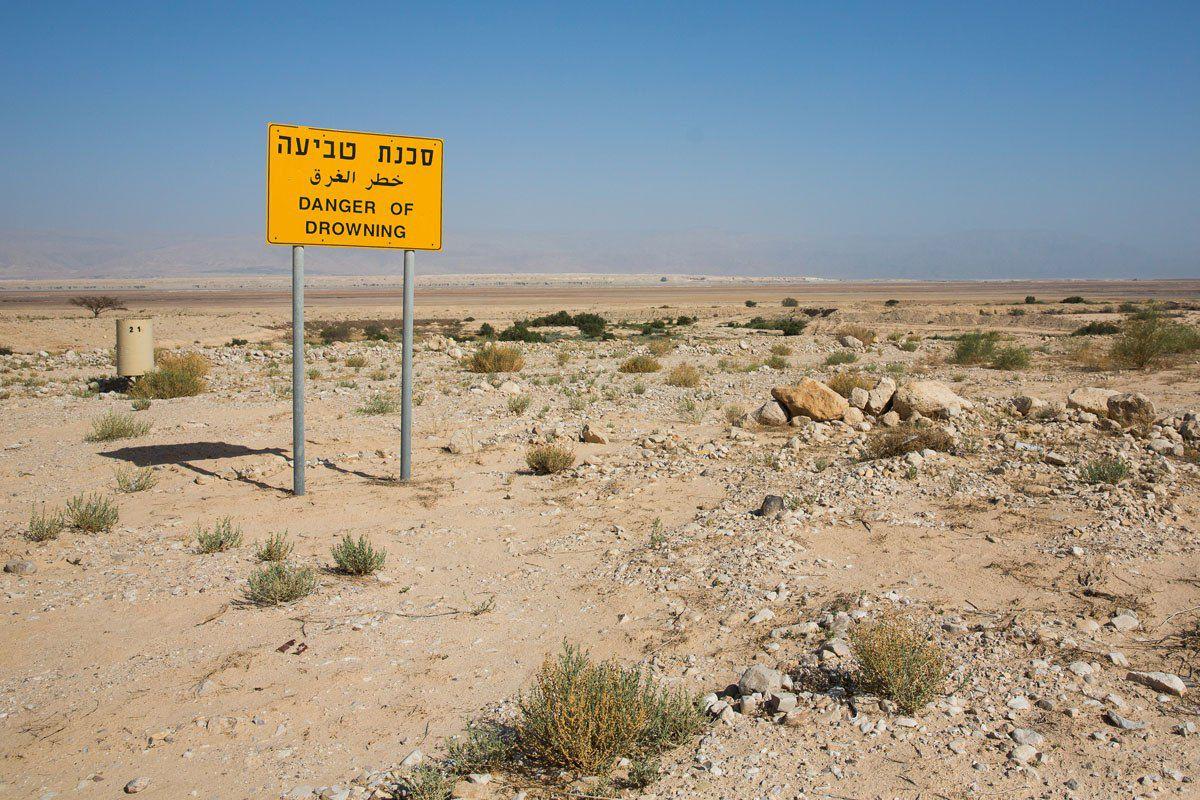 Danger of Drowning Dead Sea