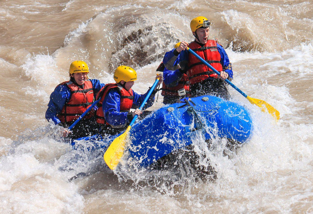 Earth Trekkers rafting
