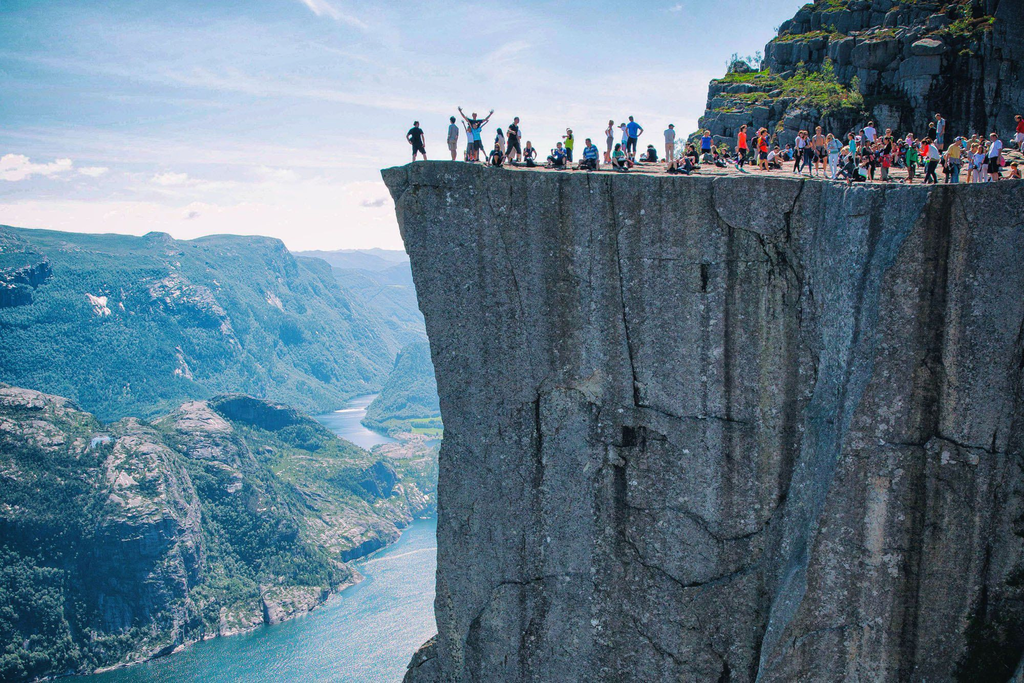 Strange How To Hike To Pulpit Rock In Norway Earth Trekkers Gmtry Best Dining Table And Chair Ideas Images Gmtryco