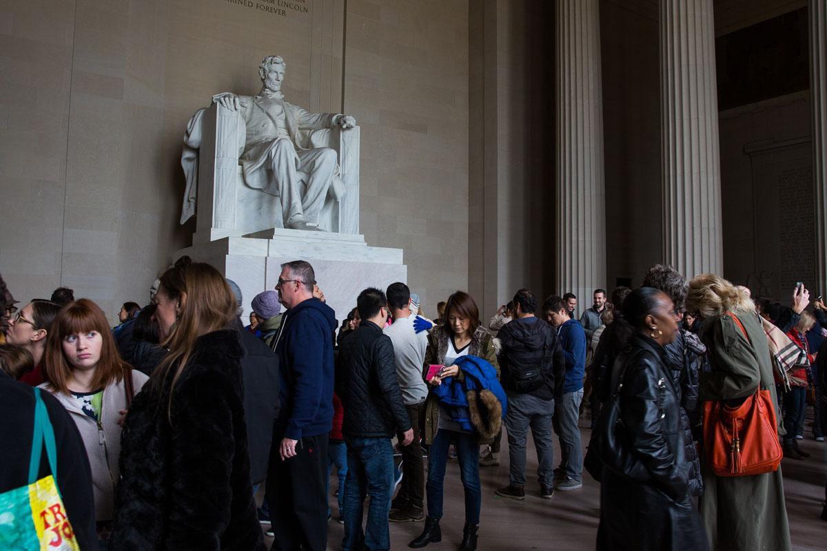 Lincoln Memorial November