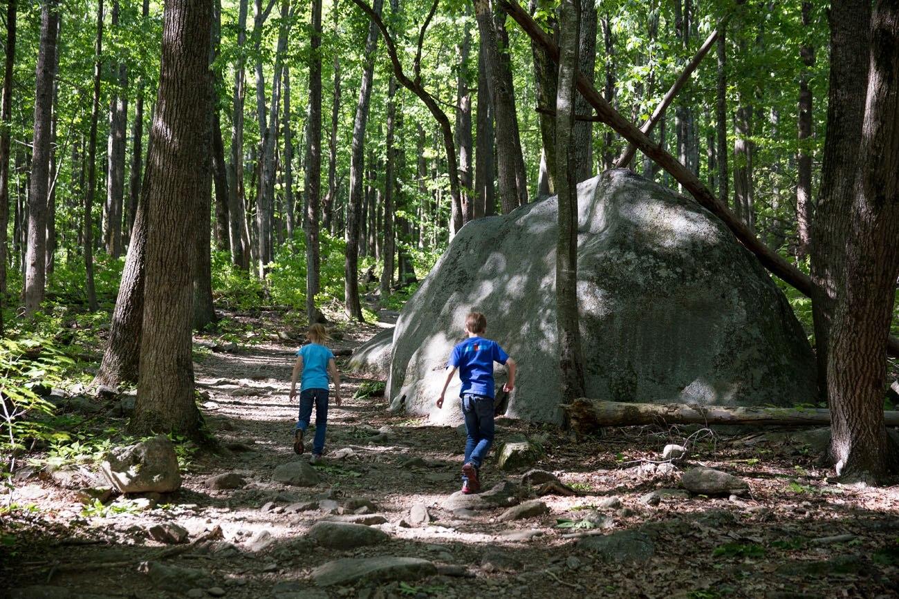 Hiking Old Rag in Shenandoah National Park with Kids Earth Trekkers