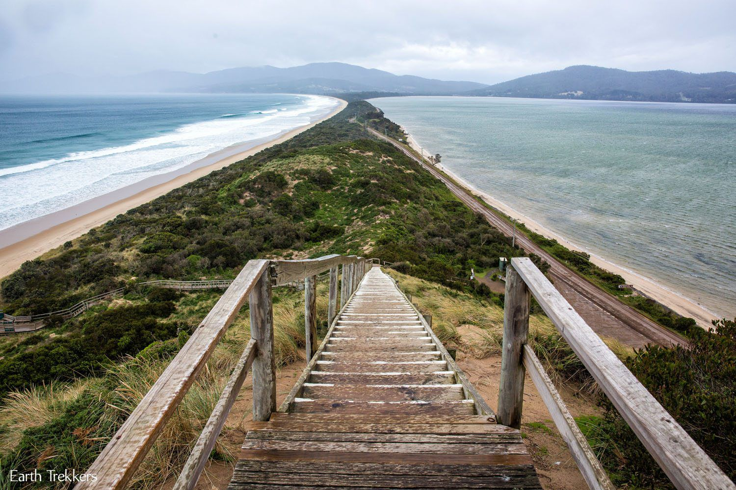 The Neck Bruny Island