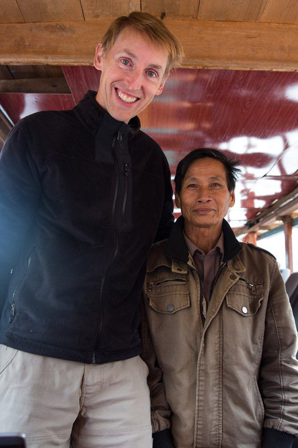 Tim in Laos