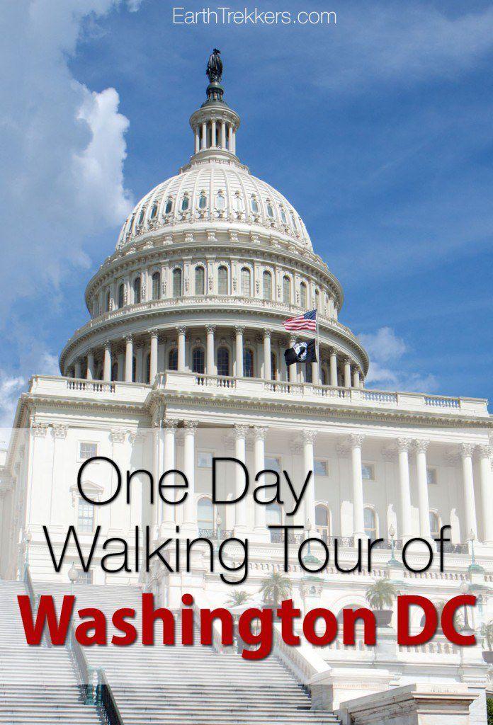 Washington DC One Day Walking Tour