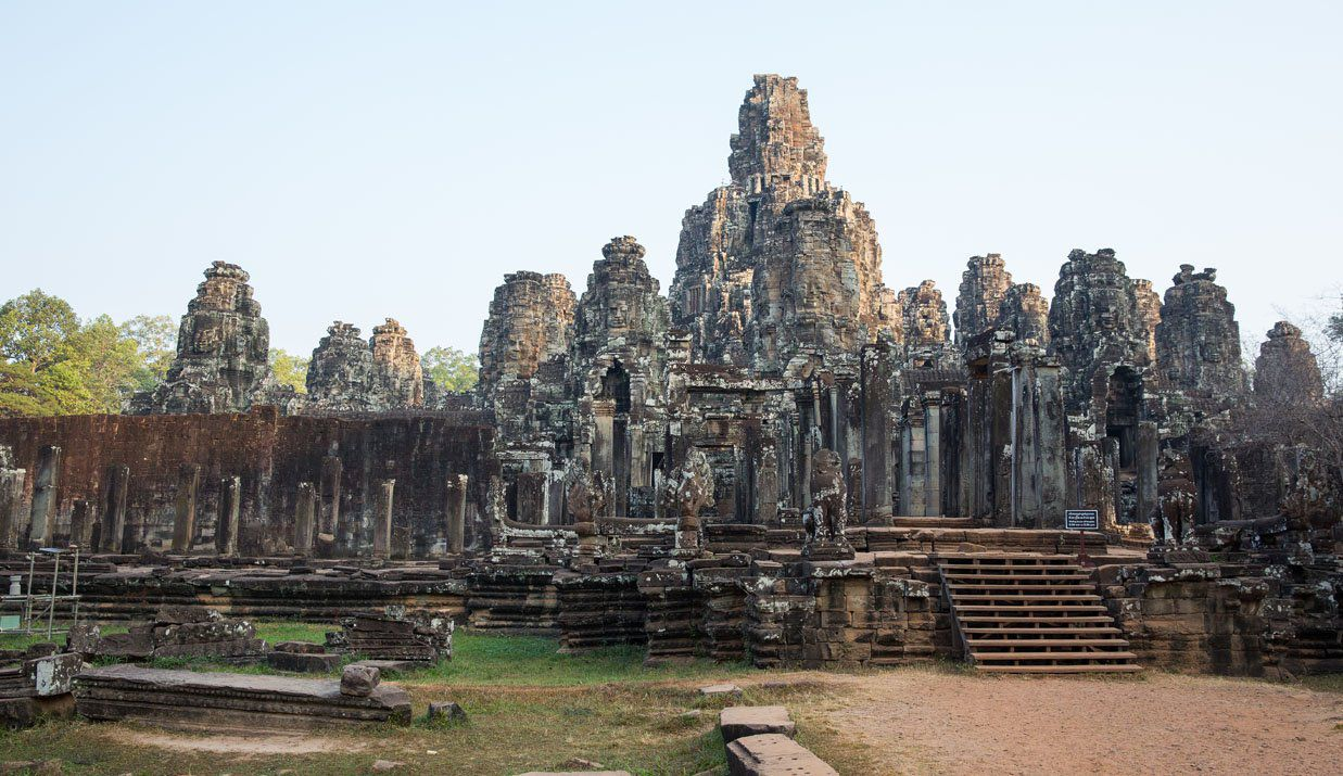 Bayon in the morning