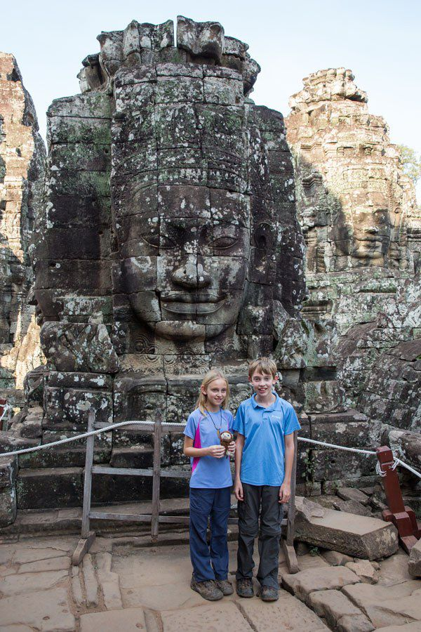 Bayon with Kids