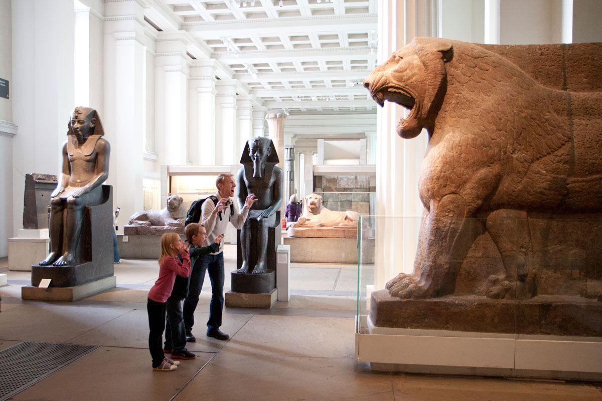 British Museum with Kids