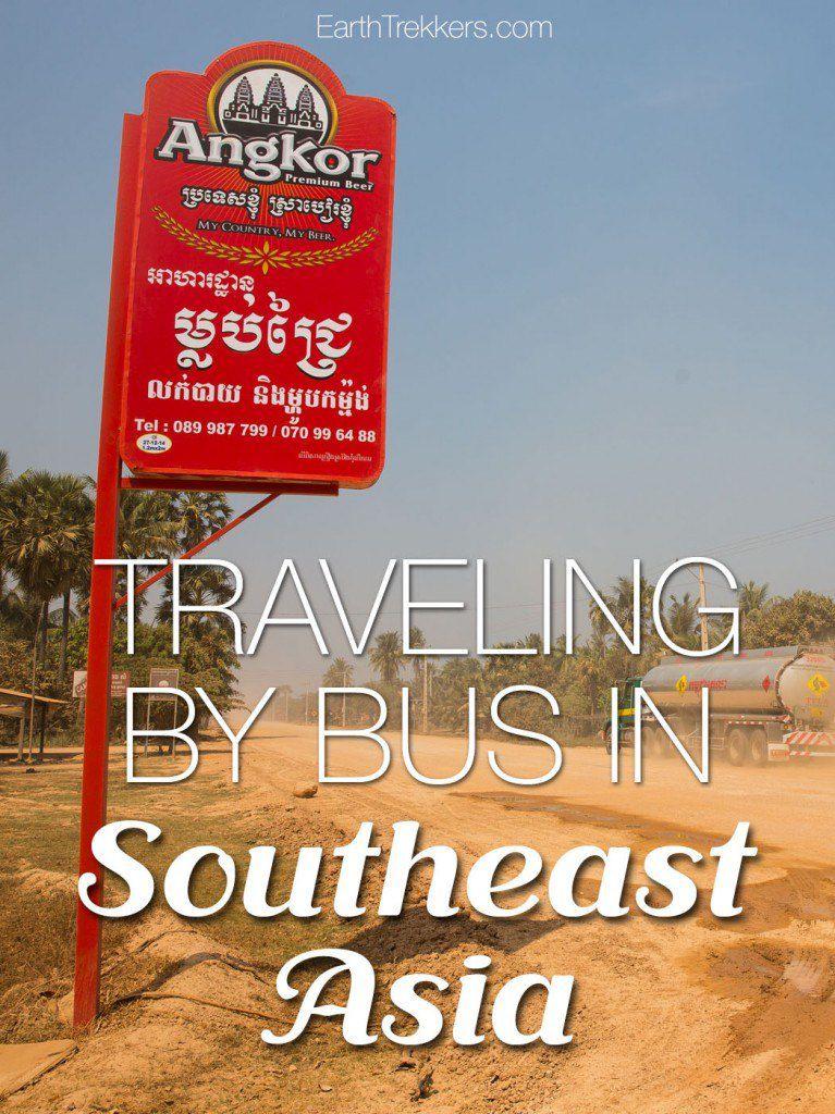 Bus travel southeast asia