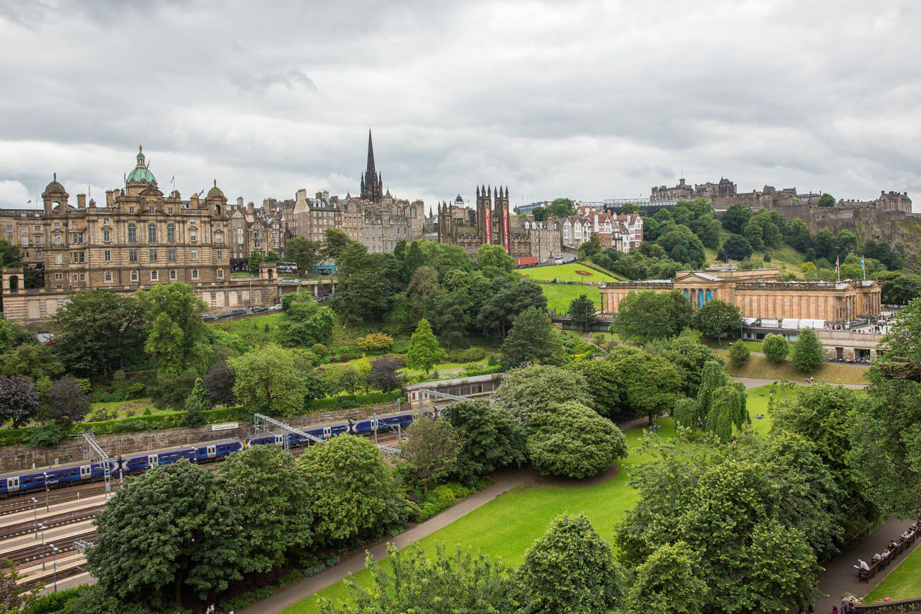 Edinburgh Scotland itinerary