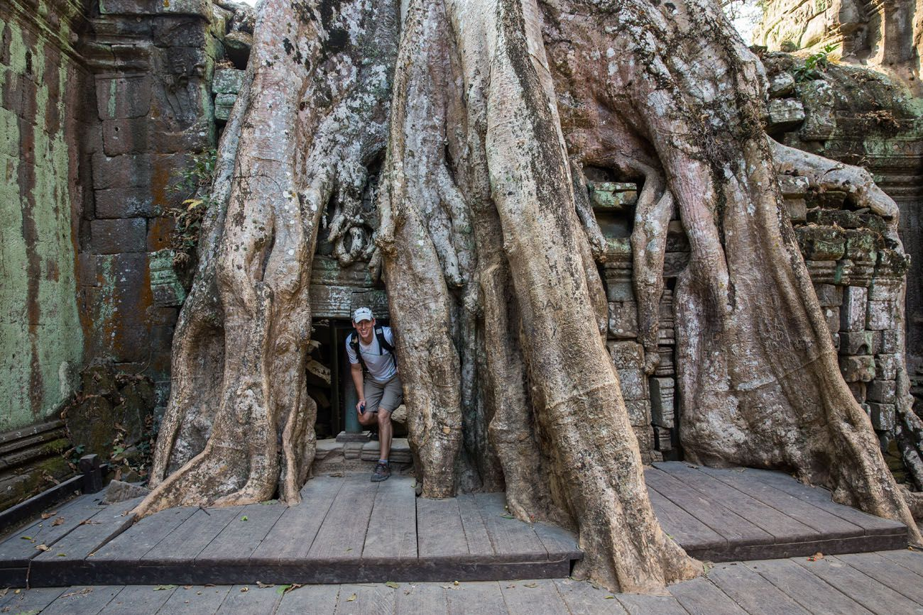 Exploring Ta Prohm