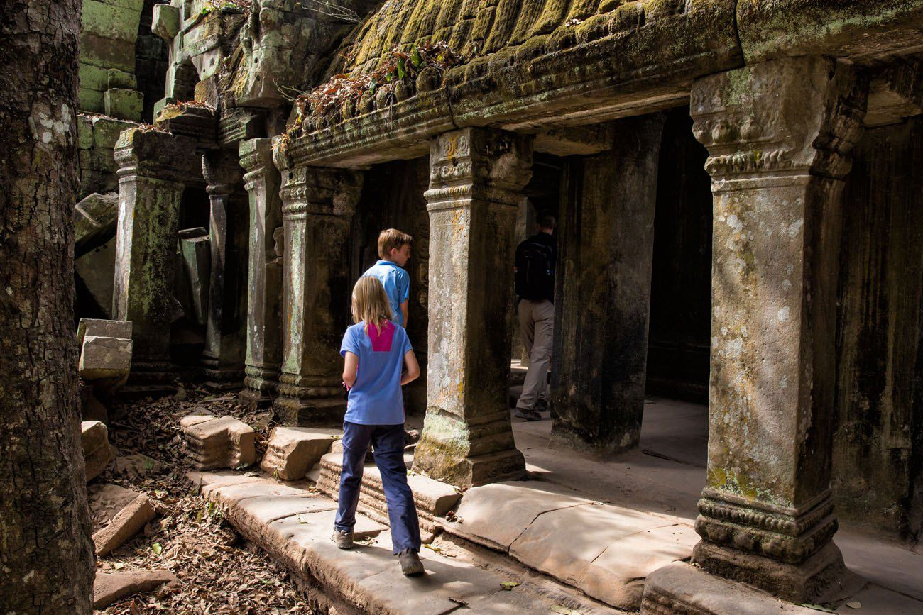 Family Adventure Travel Cambodia