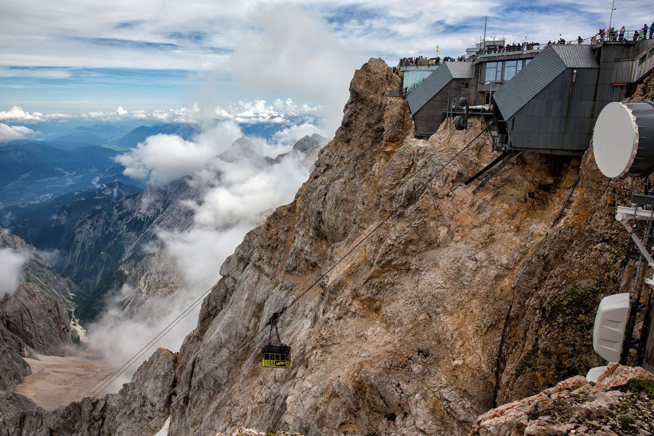 German Cable Car Zugspitze