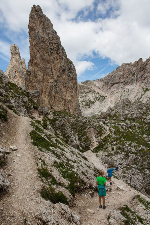Hiking Dolomites with Kids