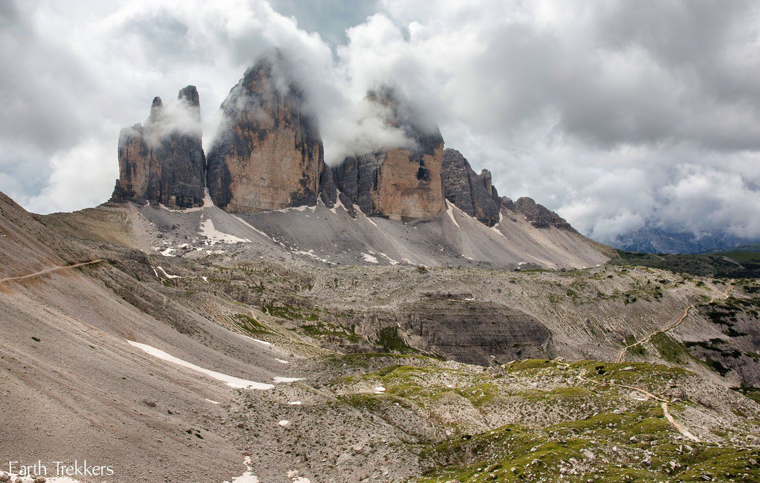Hiking Tre Cime Dolomites