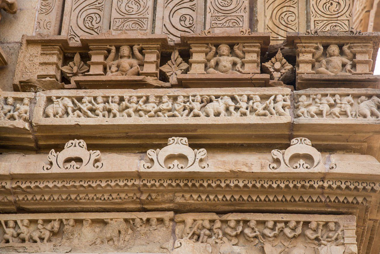 India Temple Carvings