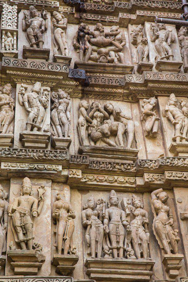 Khajuraho India Temples