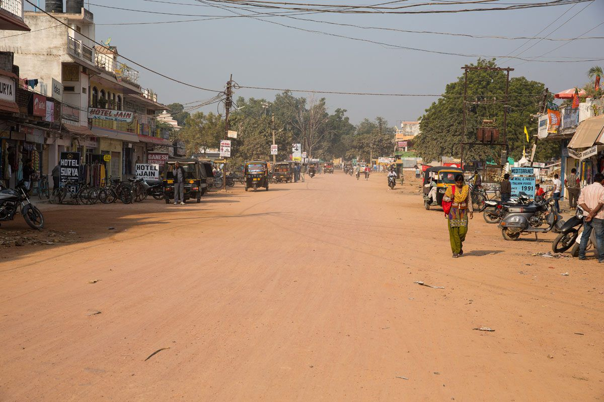 Khajuraho Street