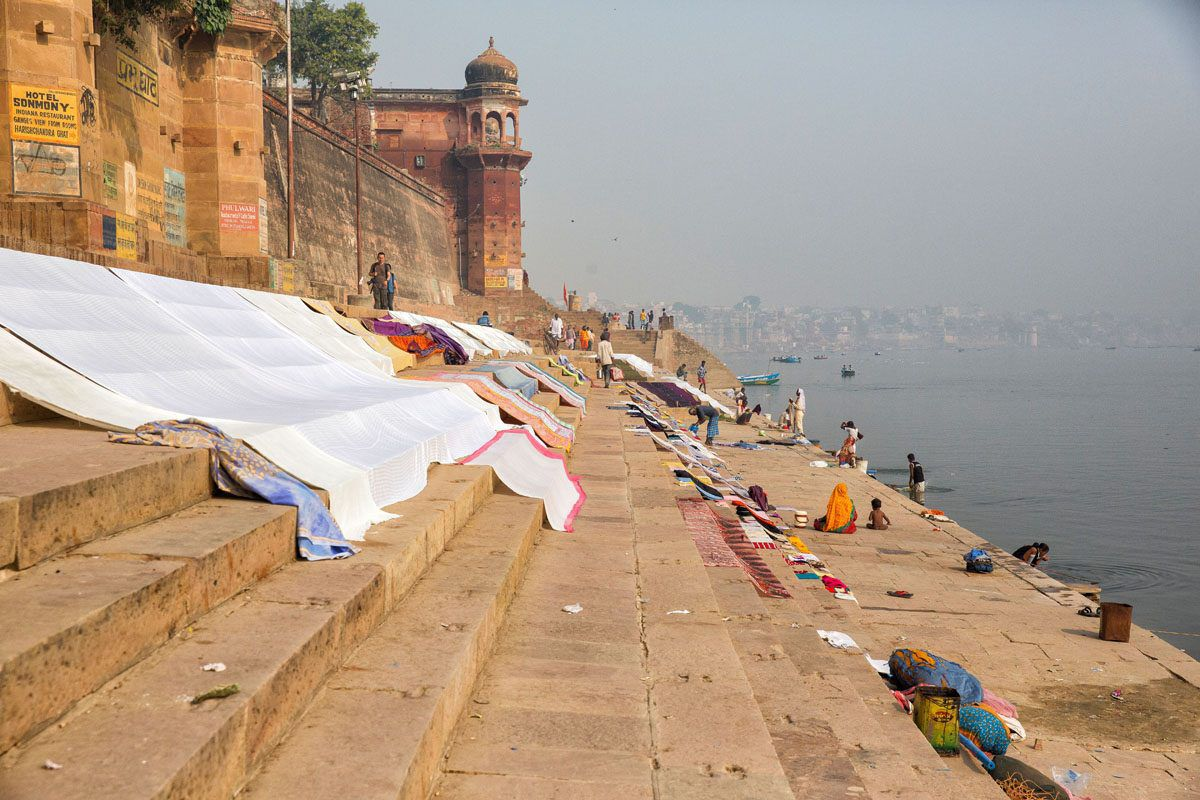 Laundry Day Ganges